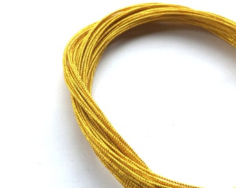 Mizuhiki - Japanese Decorative Paper Cords - Paper  Strings Cords Sparkly Gold