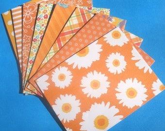 Tourmaline Orange - A2 Envelopes
