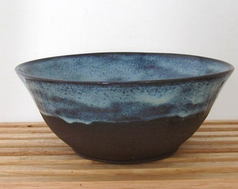 Bare Bottom Bowl - Decorative Bowl - Serving Bowl - Hand Thrown Stoneware Pottery - Ready to Ship