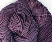 Windham 100% US Merino Hand Painted worsted weight 220 yds 201m ~4oz 113g Staney Plum
