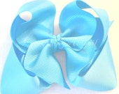 CLEARANCE Light Teal Bowtique Bow