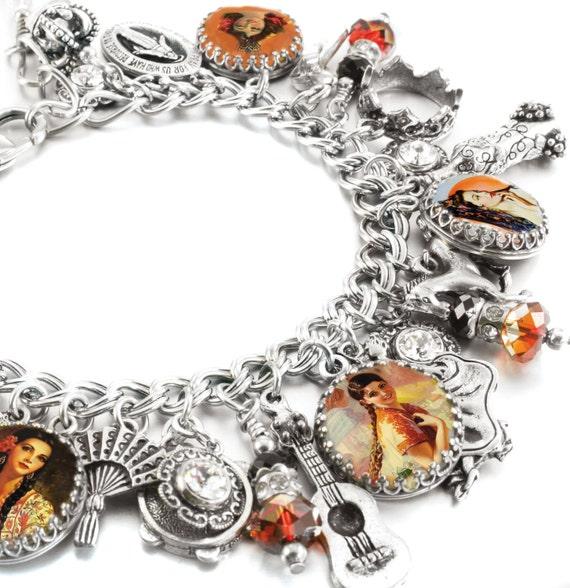 spanish charm bracelet spanish bracelet spanish jewelry
