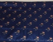Vintage Horse and Jockey Fabric-Joan Kessler for Concord Fabrics-114.5in long x 44in wide