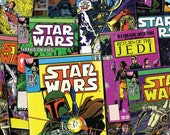 From Camelot Fabrics, Star War, Immortals, Comics, yard