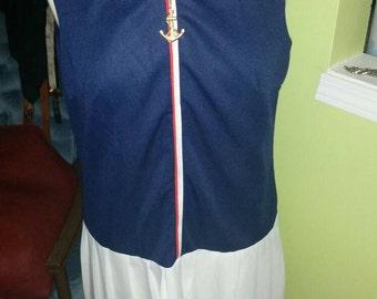 The Most Adorable Authentic Vintage Sailor Dress
