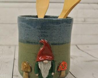 Gnome Utensil Holder