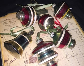 Glass Vintage Christmas Bulbs Lot