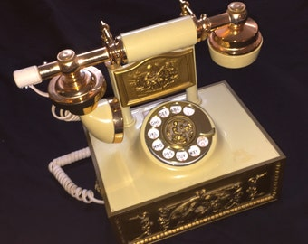 Vintage Western Electric French Provincial Telephone