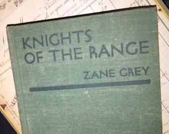 1936 Zane Grey's Knights of the Range