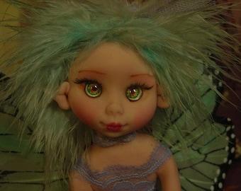 Fairy Fairies Fae pixie elf OOAK Fantasy Art Doll By Lori Schroeder 306mr