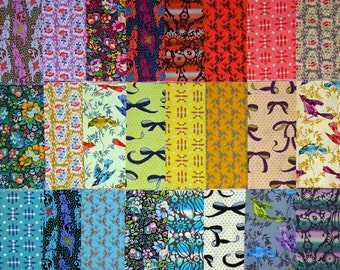 Honor Roll Collection - Fabric by Anna Maria Horner - 24 Fat Eighth Bundle - Complete Collection