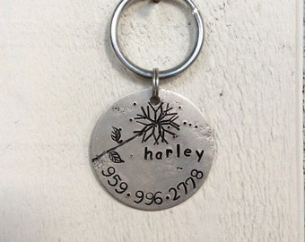 Seeking personalized gifts for dogs and dog lovers? Our pet id tags are made in Bozeman, Montana. Harley Tag