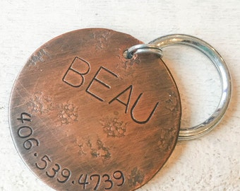 Seeking personalized gifts for dogs and dog lovers? Our pet id tags are made in Bozeman, Montana. Extra Large Trax Pet Tag