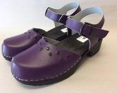 CUSTOM Purple Mary Jane  Slide