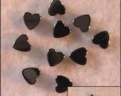 Hematite Beads, Heart Beads, Star Beads, Hematite Star Beads, 6mm Hematite Beads, Diy Jewelry Supplies, Craft Supplies, Diy Supply, Stone