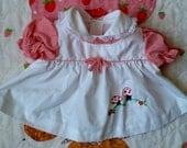 Baby Mushroom Dress 0/3 Months