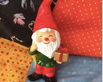 Ceramic Holiday Elf or Gnome
