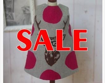SALE~~LADYBIRD HOUSE Blythe Outfit Deer Dress-A