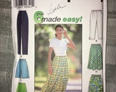 Uncut Simplicity pattern no. 7655 – size BB large, extra-large - circa 1997