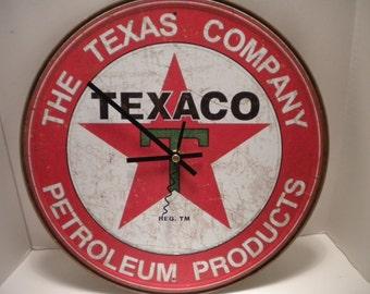 Texaco Clock