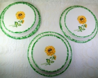 Stove Burner Covers | Electric Stove Burner Covers | Sunflower Kitchen Decor | Burner Covers | Stove Top Covers | Floral Decor