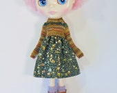 Blythe / Jerry Berry / Pure Neemo Boho FairIsle Dress