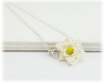 Tiny Magnolia Necklace - Magnolia Jewelry Collection