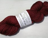 hand dyed yarn - Shimmer Sock - Burnished colorway