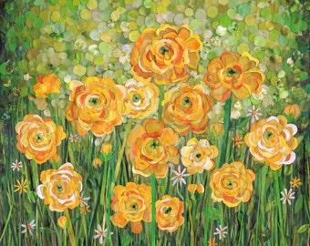 yellow ranunculus (original)