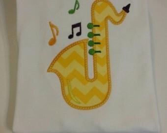 Appliqued Mardi Gras Tee Shirt
