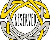 Reserved for john james