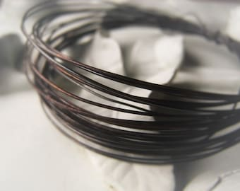 Wire Oxidized Copper 16 Gauge Copper Jewelry Wire Item No. 1672OX16