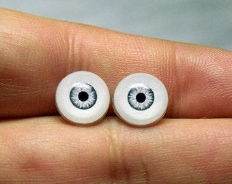 Doll eyes 10mm AD2 color Mercury