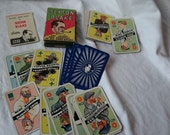 Vintage Sexton Blake Playing Cards Set in Original Box with Instructions 1930's Art Deco