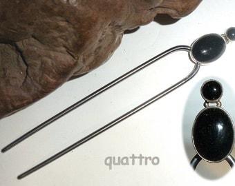 Quattro Hair Fork - FlexFork - Black Agate