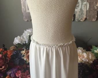 Tutu Dress Slip in White, ivory or black