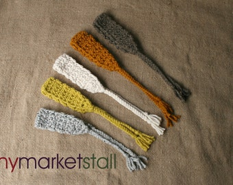 One-Size-Fits-All Head Warmer - Crocheted - Assorted Colors - Ready to Ship