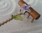 Mini Tabletop Zen Garden Rake - Fauna I