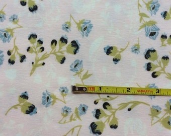 NEW Art Gallery Flourish Aglow   on cotton Lycra  knit fabric 1 yard