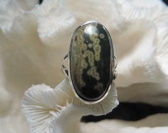 Ocean Jasper Ring Size 6