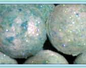 2 pack Mermaid Kisses Bath Bomb Fizzy 2.8 oz net EACH (aromatic, exfoliating, moisturizing, each individually wrapped) stardust soaps