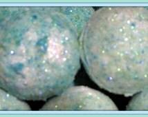 2 pack Mermaid Kisses Bath Bomb Fizzy (aromatic, exfoliating, moisturizing, gift idea, ocean colors) stardust soaps