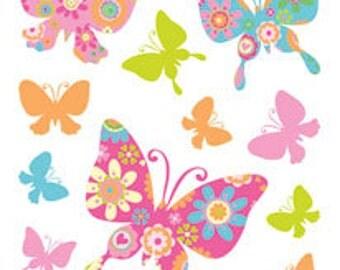 Room decor embellishment art butterflies ciupa biksemad for Room decor embellishment art 3d