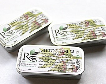Tattoo Balm for fresh ink