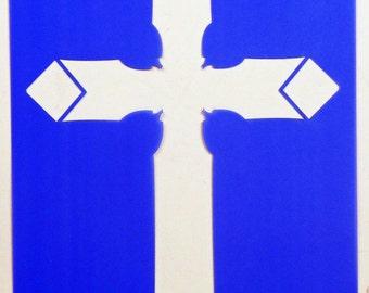 Cross Stencil