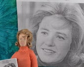 Patty Duke Art Doll Miniature 1960s Television Celebrity Collectible