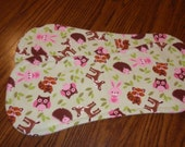 Baby Animals Burp Cloths - Set of Two