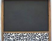 Repurposed Chalk/Cork Board from Printing Drawer