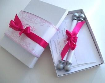 Fairytale wedding invitation suite, princess wedding invitation, set of 25
