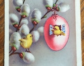 French Antique Easter Postcard
